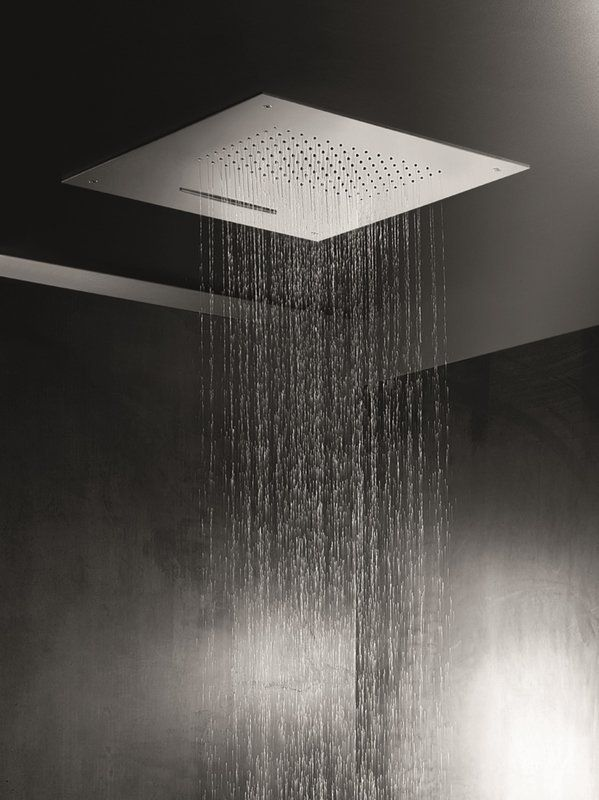Spring Sq 500 B Built In Shower Head With Images Shower Heads Power Shower Ceiling Shower Head