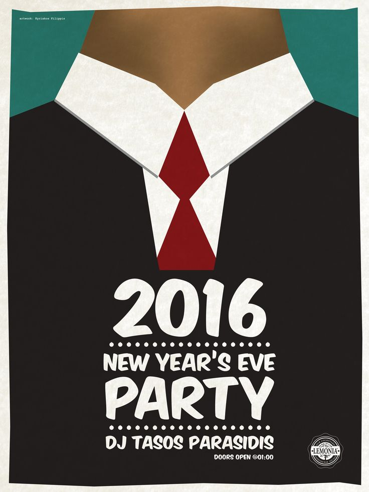 New year's eve 2016 at Lemonia Espresso - bar.