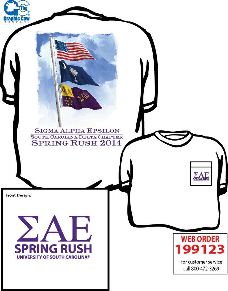 Sae south carolina rush design art and illustration for Southern fraternity rush shirts