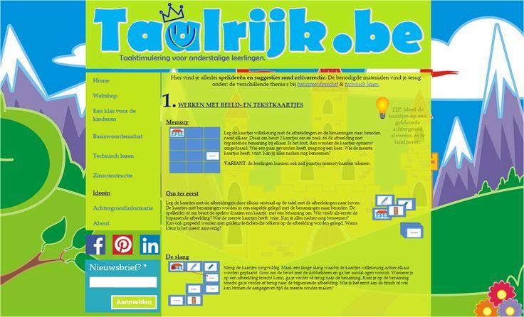 Allerlei spelideeën om Nederlandse woordenschat te oefenen met anderstalige nieuwkomers en leerlingen. Deze spelideeën horen bij de tekst- en beeldkaartjes die je bij elk thema terug vindt.