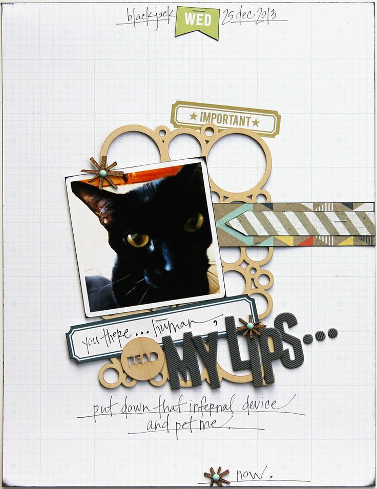 Plus de 1000 id es propos de scrapbooking chats sur pinterest animaux de compagnie studio - Lay outs idee ...