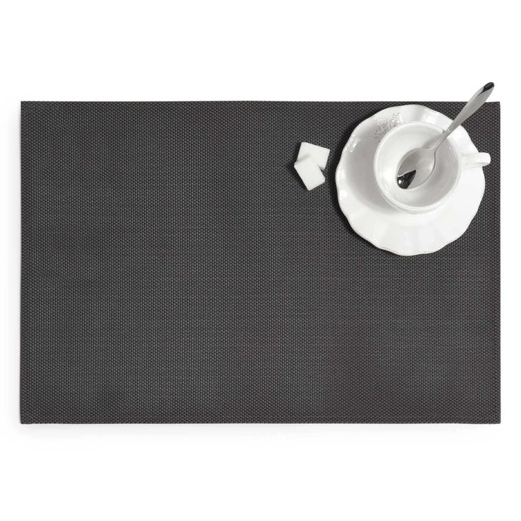 Steel charcoal grey placemat   - Sold in sets of 6