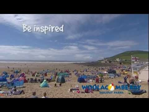 On golden sands in Devon, from Woolacombe Bay Holiday Parks