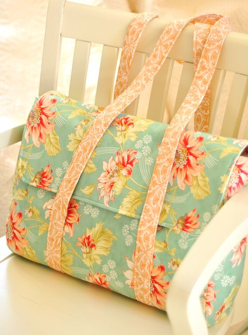 One piece bag, FigTree pattern. Nx