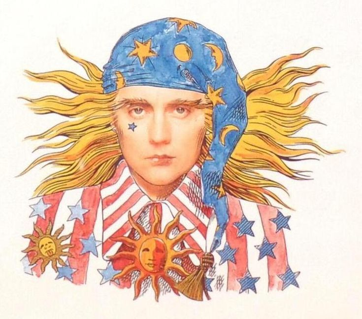 Roger Taylor 'Innuendo' Artwork