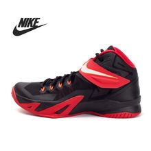 100% Original new 2015 NIKE ZOOM SOLDIER VIII EP men's shoes 653642-016 spring Basketball Shoes sneakers free shipping(China (Mainland))