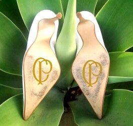 Adesivo Sapato Noiva Brasão Antigo Corinthians