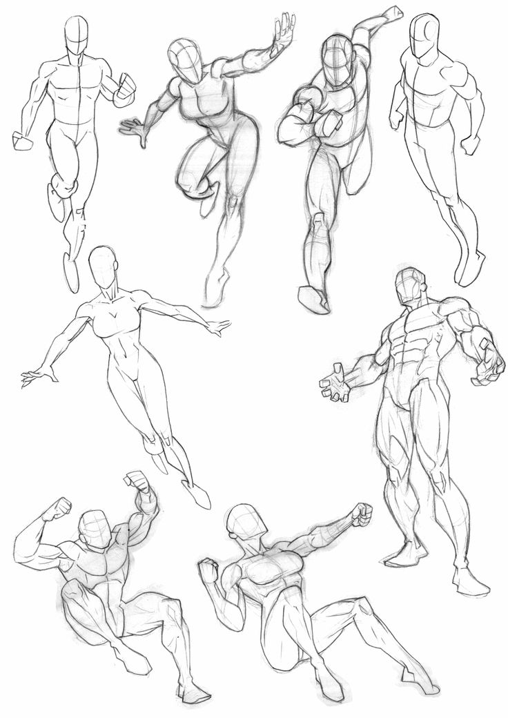 Latest compilation of anatomy and pose sketches from my ...