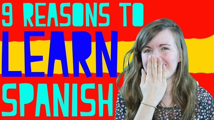Fun video about reasons to learn Spanish. #Spanish learning #Learning Spanish #language learning www.pinterest.com...