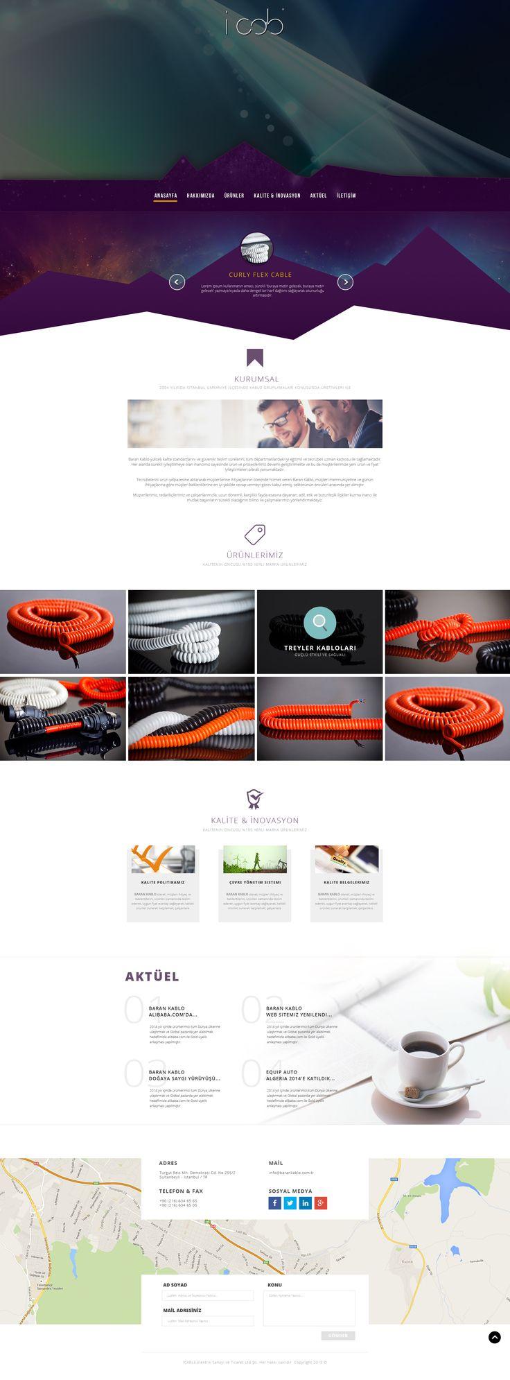 Spiral Kablo web tasarım ve yazılım projesi birNC Ajans tarafından tamamlanmıştır. (Baran Kablo projesidir.)