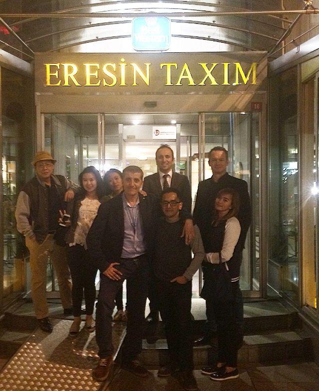 Eresin Taxim Premier olarak  Endonezya acentacılardan oluşan FAM Trip grubumuzu ağırladık. As we Eresin Taxim Premier hosted a group of travel professionals from  Indonesia during their stay in Istanbul.