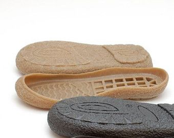 Brown rubber soles for your own projects Supply for by Makeshoes