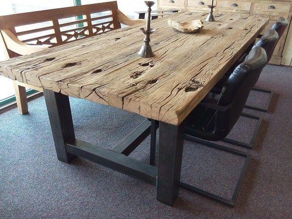 Het grove tafelblad