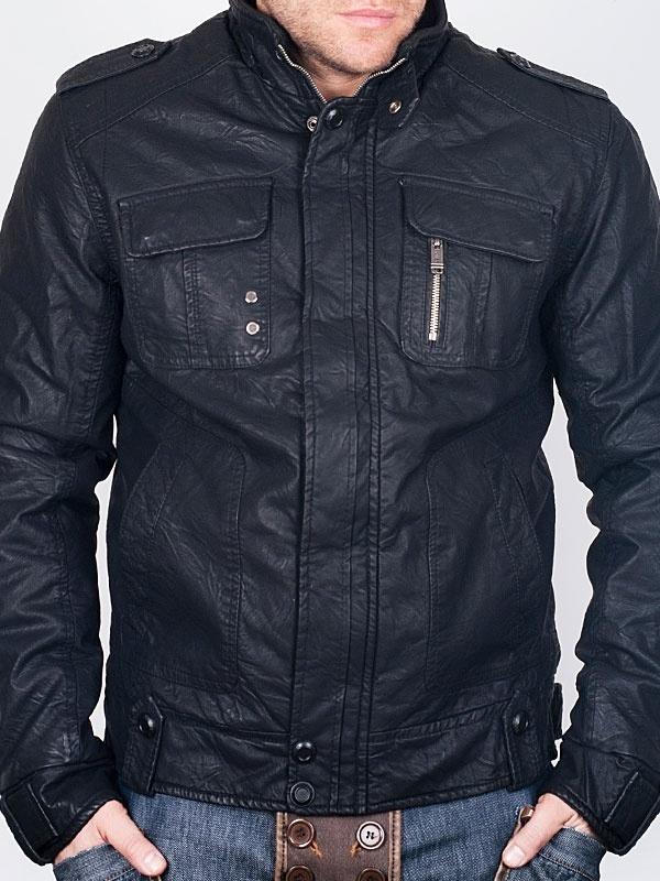 Men Winter Jackets - Picken Dark Blue Winter Jacket - price €42.00 ...
