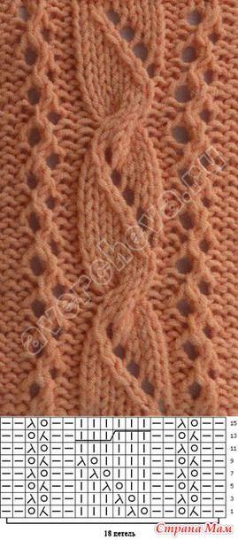 Оранжевый снуд - Вязание - Страна Мам