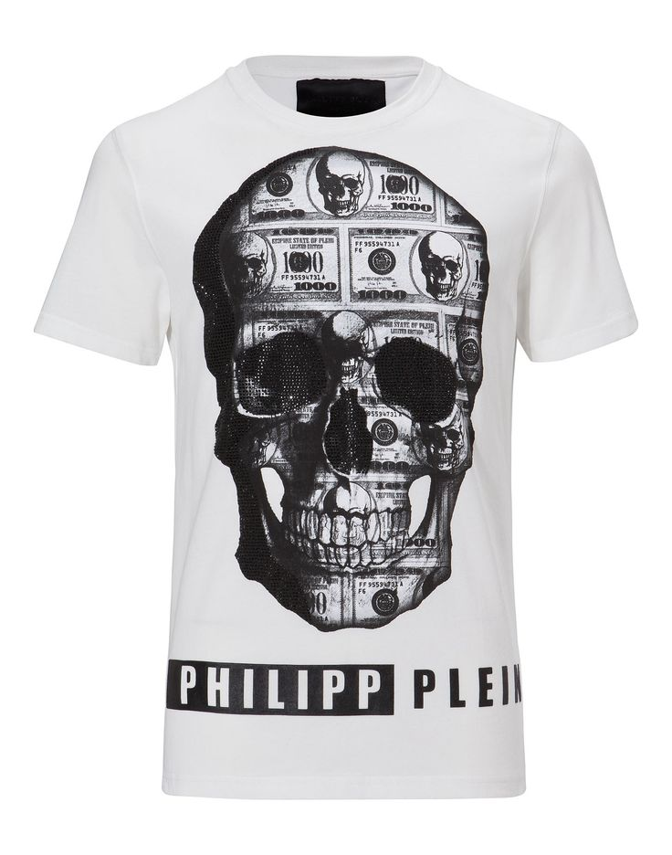 "PHILIPP PLEIN T-SHIRT ""FOREVER AND EVER"". #philippplein #cloth #"