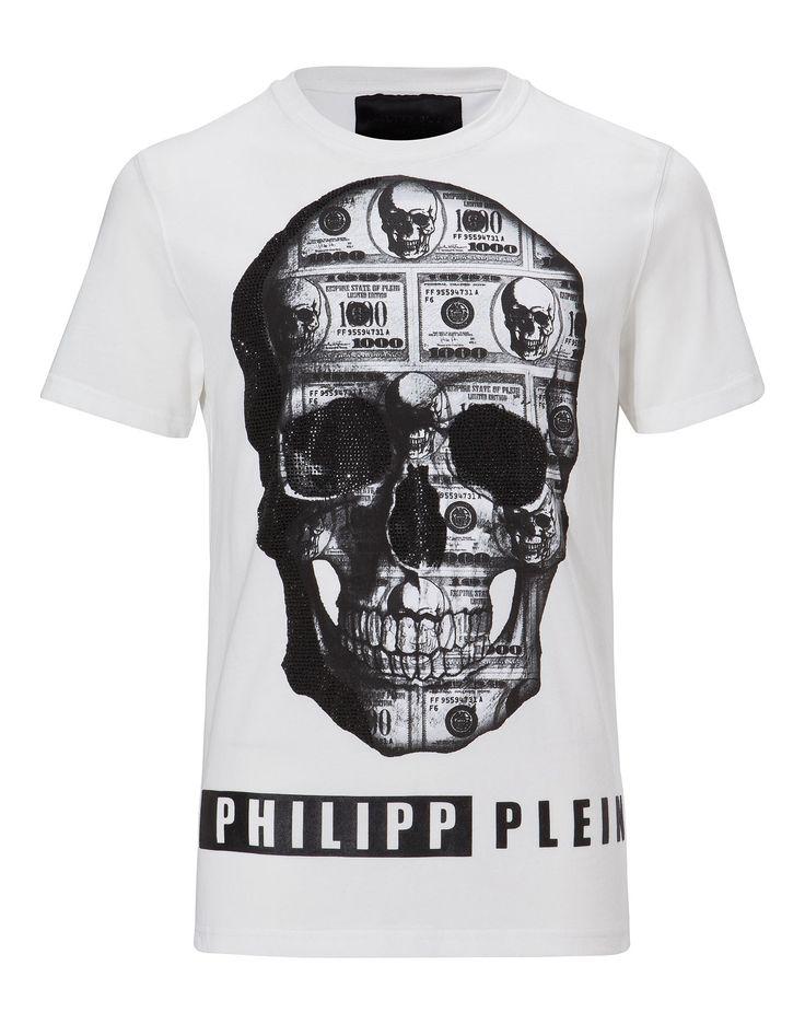 "PHILIPP PLEIN T-SHIRT ""FOREVER AND EVER"". #philippplein #cloth #"