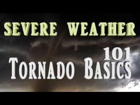 Where do tornadoes occur