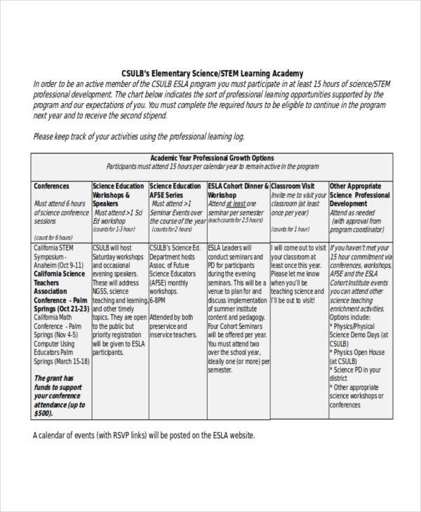 Study Record Templates 9 Free Printable Doc Pdf Xls Study Elementary Science Templates