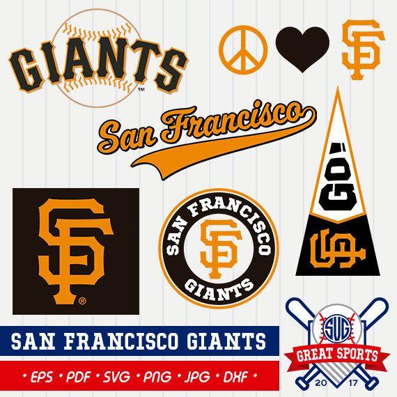 San Francisco Giants SVG, San Francisco Beisball Clipart, San Francisco Giants DXF, Baseball Clipart, Giants Clipart,Clipart SVG, mb-17