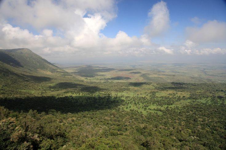 The Great Rift Valley - #Kenya.