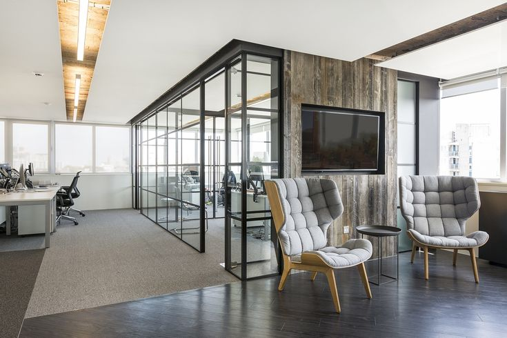 Breakout space at Adgenda and Space & Time offices in London
