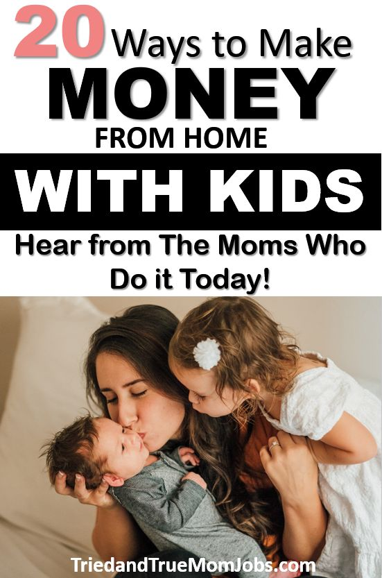 20 Real Stay at Home Mom Jobs in 2019 – I make $5000/mo. w/ my 2 kids – Ideas