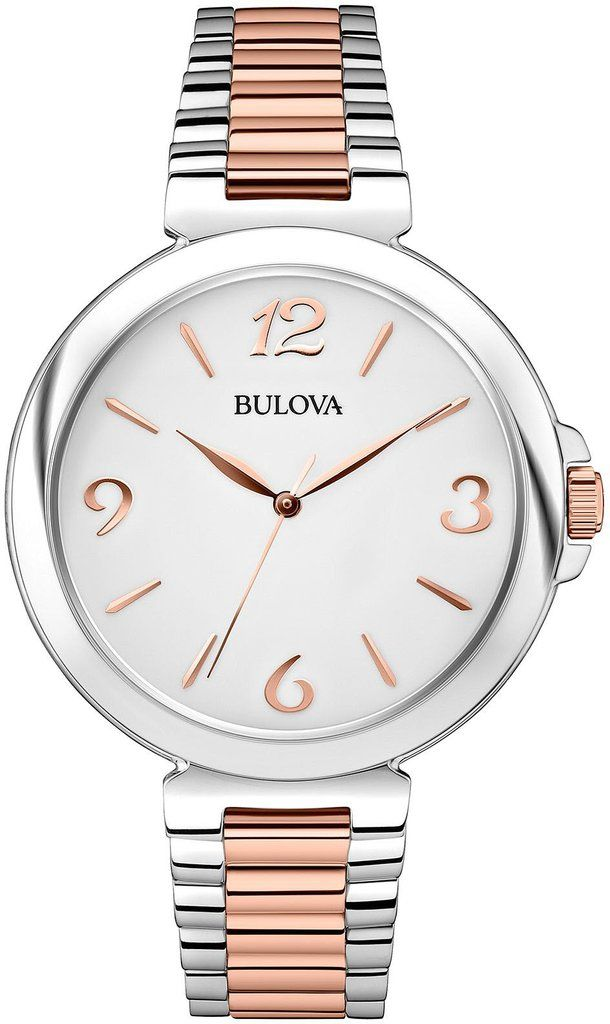 @bulova  Watch Ladies Dress #bezel-fixed #bracelet-strap-gold #brand-bulova #bulova-core-line #case-material-steel #case-width-38mm #delivery-timescale-4-7-days #dial-colour-silver #fashion #gender-ladies #movement-quartz-battery #official-stockist-for-bulova-watches #packaging-bulova-watch-packaging #style-dress #subcat-dress #supplier-model-no-98l195 #warranty-bulova-official-3-year-guarantee #water-resistant-30m