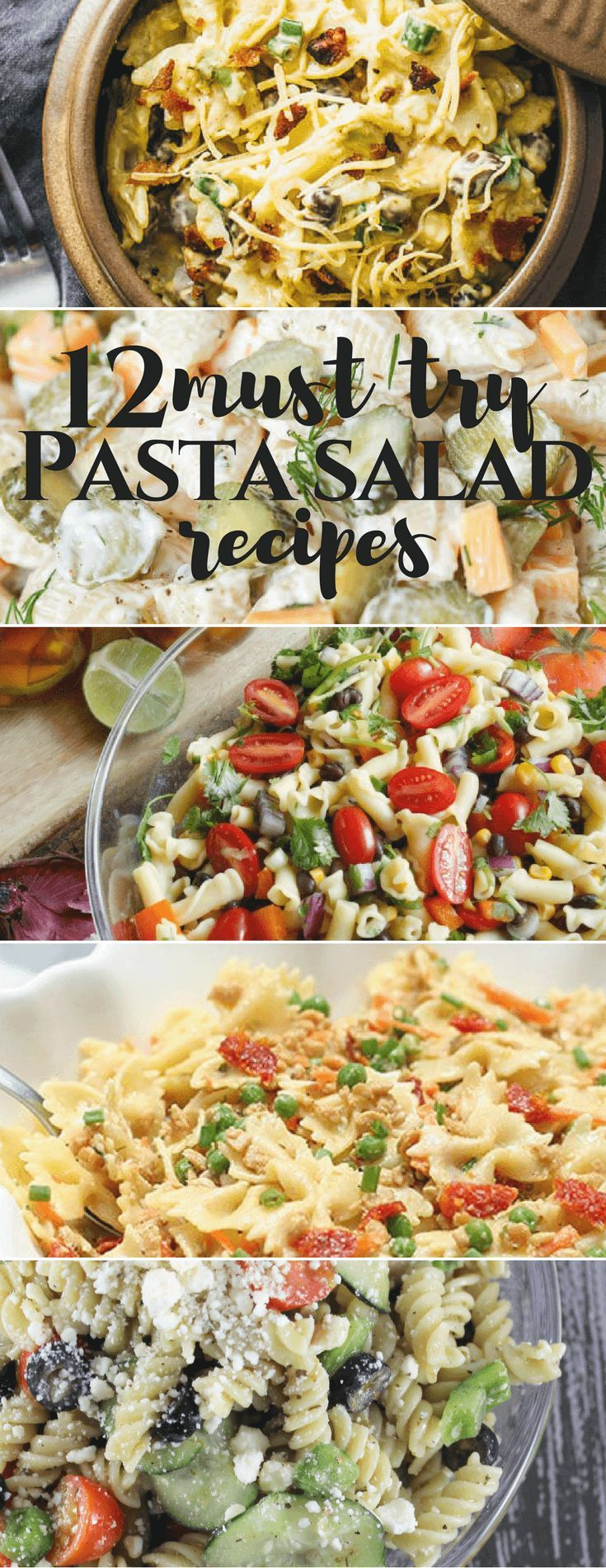 12 Must Try Pasta Salad Recipes cooking from scratch