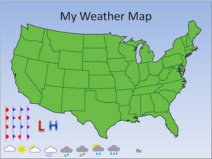 Understanding Weather Symbols On Your Local Weather Map