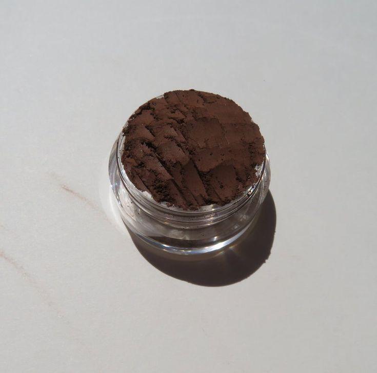 FUDGE -Matte Brown Mineral Eyeshadow | Loose Minerals | Vegan Loose Powder Eyeliner | Mineral Makeup Eye Shadow