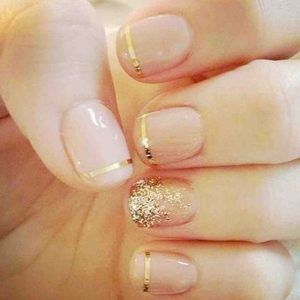 26 best gold nail design ideas images on pinterest gold nail get unique nail art ideas and designs for valentines day enjoy the most beautiful nail art ideas for valentines day share your nail art ides with us prinsesfo Images