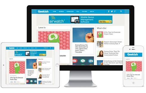 Geekish Premium Blogger or Blogspot Template | ThemeSpira