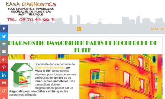 Kasa Diagnostics - Diagnostics immobiliers à Paris     - Paris 01, Paris, Île-de-France