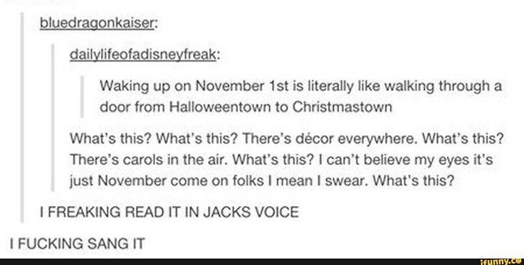 October 31 vs November 1