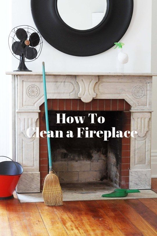119 best fireplace maintenance images on pinterest fire places how to clean a fireplace solutioingenieria Images