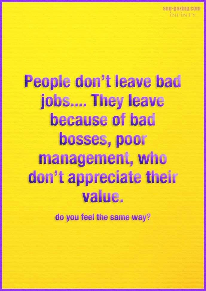 Bad Bosses Feeling Unappreciated Quotes Work Quotes Funny Bad Boss Quotes