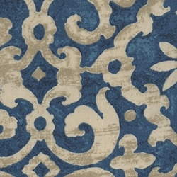 Colouade Indigo Outdoor Fabric
