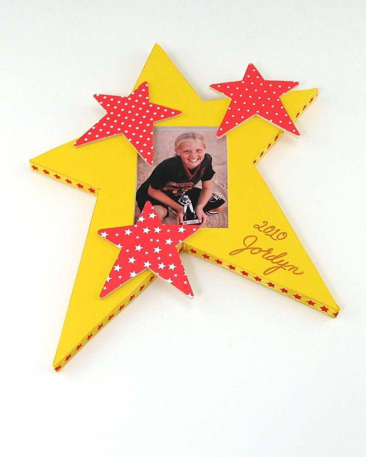 Super Star Frames - cute craft idea for the party! #DisneySide