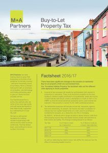 Buy-To-Let Property Tax Guide