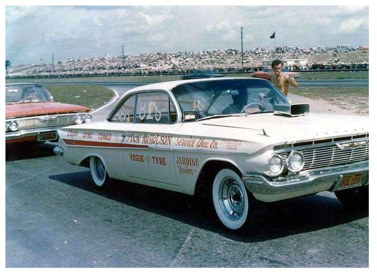 Dyno Don… 1961 Impala bubbletop 409 Chevy Impala Race