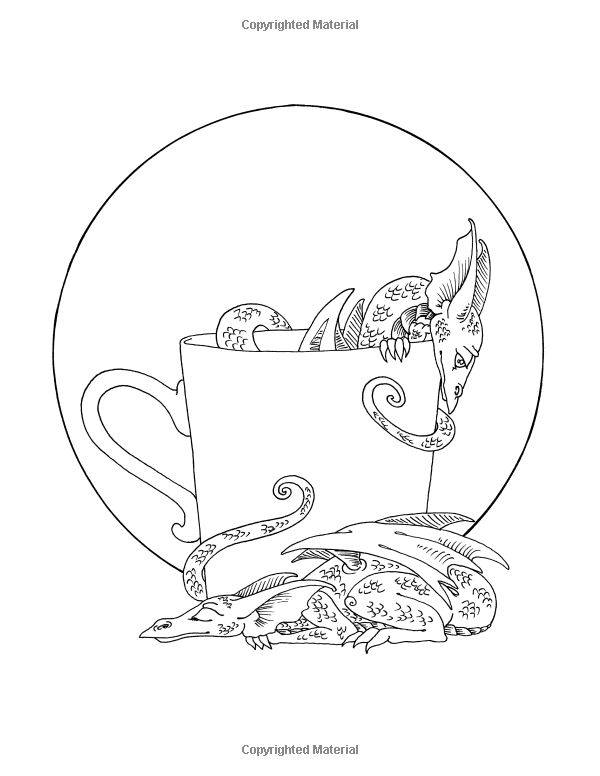 Teacup Faeries And Friends Coloring Book Amy Brown 9780988964969 Amazon