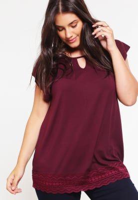 Vêtements Anna Field Curvy T-shirt imprimé - port royale bordeaux: 29,95 € chez Zalando (au 22/02/17). Livraison et retours gratuits et service client gratuit au 0800 797 34.