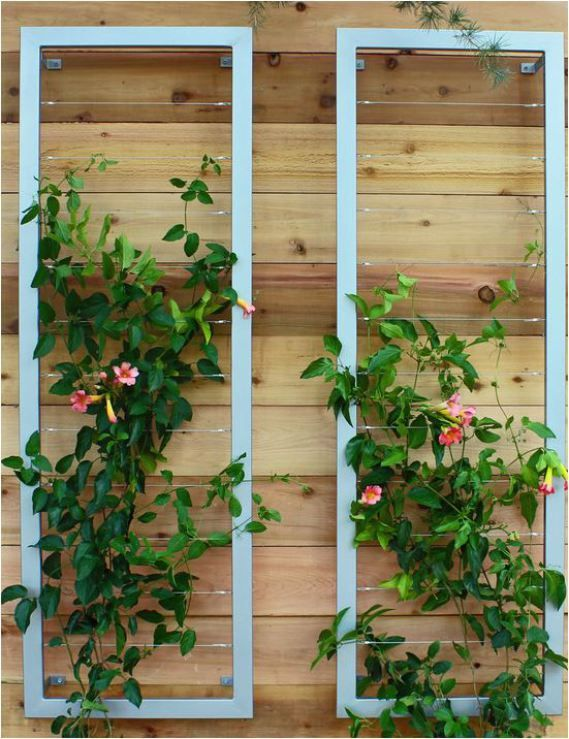 Vertical Garden Supports | Centsational Girl