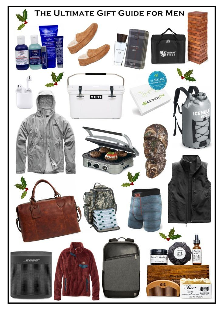 The Ultimate Gift Guide For Men The Sister Studio Gift Guide For Men Thoughtful Gifts For Him Diy Gifts For Him