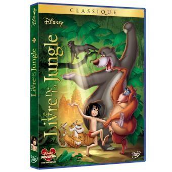 Le Livre de la Jungle DVD