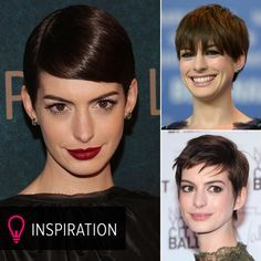 Anne Hathaway shows 10 different ways to style a pixie cut