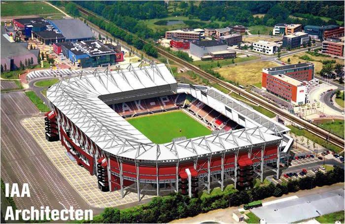 Twente Enschede Stadium.