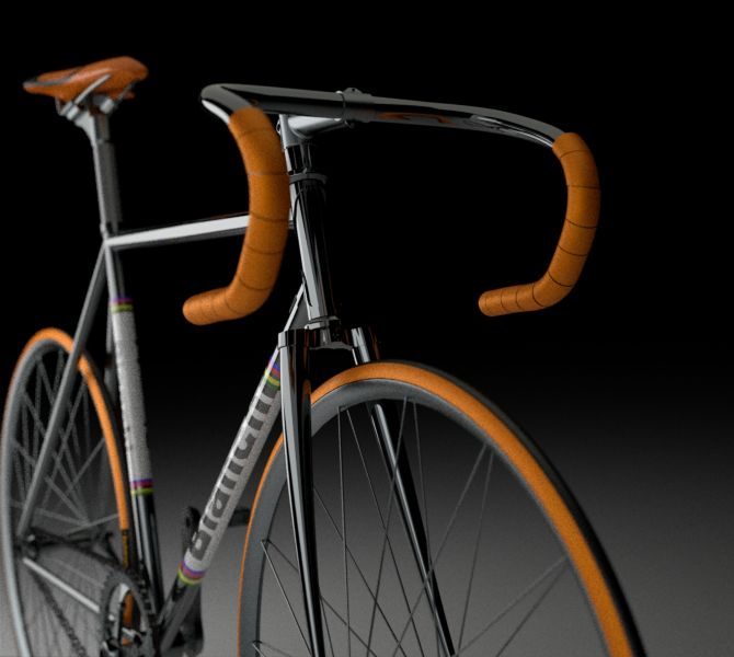 Such a great looking bike . . .   Thinking, time for another Fixie