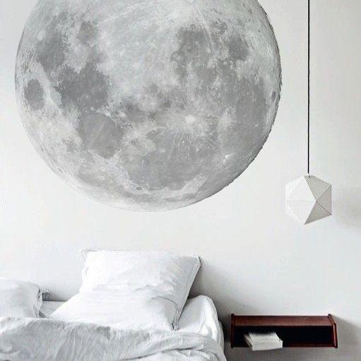Image of Papier peint Lune - new crush
